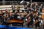 Sul Belvedere di Villa Rufolo<br /> Orchestra Filarmonica Salernitana 'Giuseppe Verdi'<br /> Direttore Ryan McAdams<br /> Anna Tifu, violino<br /> Alessandro Taverna, pianoforte <br /> <br /> Musiche di Listz, Chausson, Sgambati