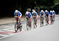 Stage 2 (TTT): Brussels to Brussels (BEL/28km) <br /> 106th Tour de France 2019 (2.UWT)<br /> <br /> ©kramon