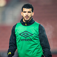 2nd January 2021; Bet365 Stadium, Stoke, Staffordshire, England; English Football League Championship Football, Stoke City versus Bournemouth; Dominic Solanke of Bournemouth during the warm up