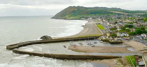 File image of Bray Harbour in Co Wicklow
