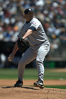 Roger Clemens. New York Yankees vs Oakland Athletics. Oakland, CA 5/10/2003 MANDATORY CREDIT: Brad Mangin