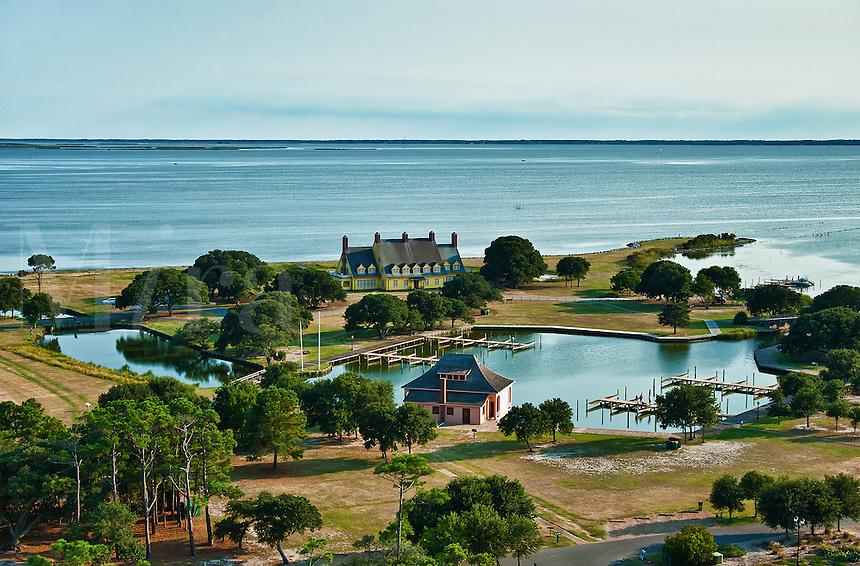 Whalehead Club Historic House Museum, Corolla, Outer Banks, North Carolina, USA