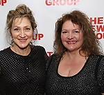 Edie Falco ands Aida Turturro during the New Group Annual Gala at Tribeca Rooftop on March 11, 2019 in New York City.