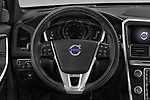 Car pictures of steering wheel view of a 2017 Volvo XC60 R-Design 5 Door SUV Steering Wheel