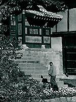 im Hein-Sa Tempel, Korea 1977
