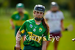 Kerry's Caoimhe Spillane in action against Galway in the National Camogie league in Lixnaw on Saturday.