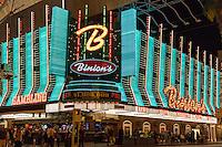 Las Vegas, Nevada.  Fremont Street.  Binion's Casino.