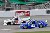 #68: Clay Greenfield, Clay Greenfield Motorsports, Toyota Tundra Rackley Roofing #33: Josh Bilicki, Reaume Brothers Racing, Toyota Tundra