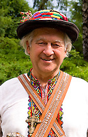 Man in traditional attire, Kiev, Ukraine