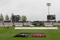 Overcast early morning at the Hampshire Bowl during India vs New Zealand, ICC World Test Championship Final Cricket at The Hampshire Bowl on 20th June 2021