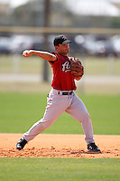 March 22, 2010:  Second Baseman Jose Altuve of the Houston Astros organization during Spring Training at the Carl Barger Training Complex in Melbourne, FL.  Photo By Mike Janes/Four Seam Images