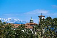 Udine, Blick auf Dolomiten, Santa Maria della Grazie, Venetien-Friaul, Italien