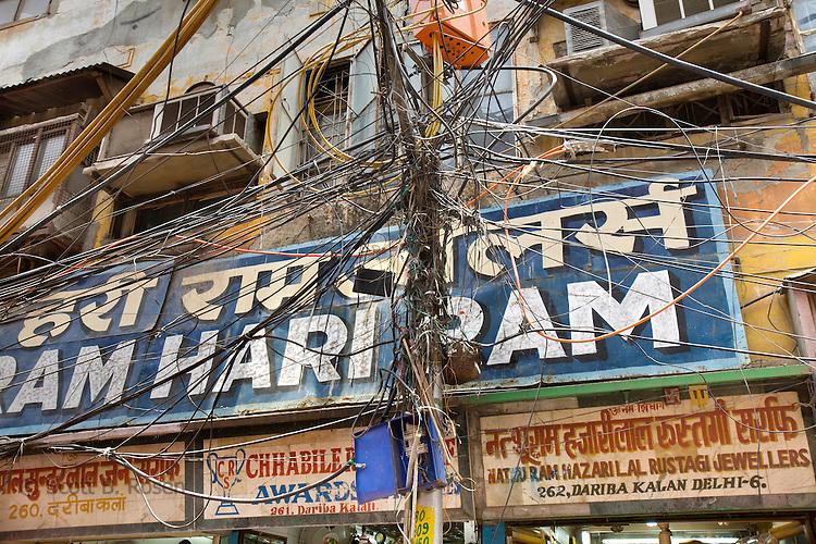 Old Delhi street scenes