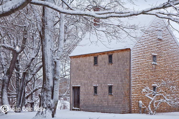 Historic Hoxie House in Sandwich, Cape Cod, MA, USA