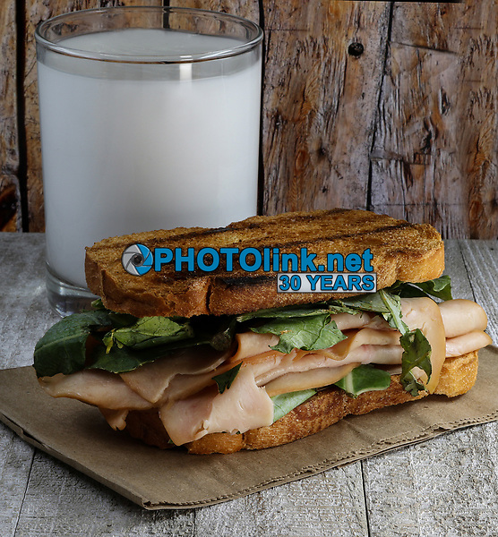 Turkey Sandwich<br /> Photo By Adam Scull/PHOTOlink.net