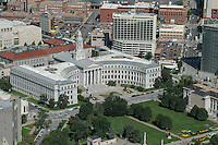 Denver city hall and Civic Center Park. Aug 20, 2014