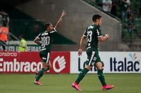 São Paulo (SP), 20/02/2020 - Palmeiras-Guarani - Dudu comemora gol. Palmeiras e Guarani, durante partida válida pela sétima rodada do campeonato paulista 2020, no Allianz Parque, zona oeste da capital, na noite desta quinta-feira (20).
