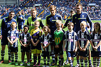 Pictured: Children mascots.<br /> Sunday 01 September 2013<br /> Re: Barclay's Premier League, West Bromwich Albion v Swansea City FC at The Hawthorns, Birmingham, UK.