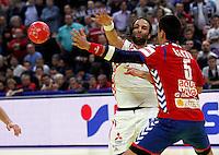 Ivano Balic of Croatia passes the ball during men`s EHF EURO 2012 championship semifinal handball game between Serbia and Croatia in Belgrade, Serbia, Friday, January 27, 2011.  (photo: Pedja Milosavljevic / thepedja@gmail.com / +381641260959)