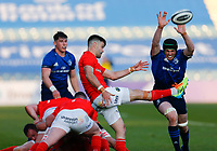 23th April 2021; RDS Arena, Dublin, Leinster, Ireland; Rainbow Cup Rugby, Leinster versus Munster; Conor Murray of Munster kicks the ball clear