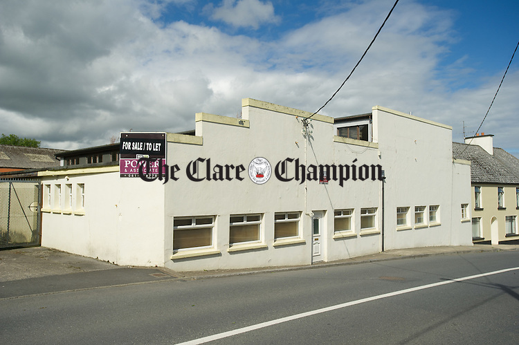 The old Mangans cash And Carry building in Kilmihil. Photograph by John Kelly.