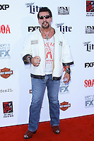HOLLYWOOD, LOS ANGELES, CA, USA - SEPTEMBER 06: Chuck Zito arrives at the Los Angeles Premiere Of FX's 'Sons Of Anarchy' Season 7 held at the TCL Chinese Theatre on September 6, 2014 in Hollywood, Los Angeles, California, United States. (Photo by David Acosta/Celebrity Monitor)