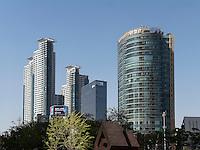 Architektur in Gangnam, Seoul, Südkorea, Asien<br /> architecture in Gangnam, Seoul, South Korea, Asia