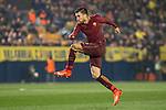 Kevin Strootman of AS Roma kicks the ball during the match Villarreal CF vs AS Roma during their UEFA Europa League 2016-17 Round of 32 match at the Estadio de la Cerámica on 16 February 2017 in Villarreal, Spain. Photo by Maria Jose Segovia Carmona / Power Sport Images