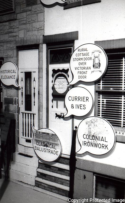 "Robert Venturi: ""Signs of Life"", 1976. Show at the Renwick Gallery, Washington D.C."