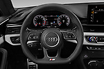 Car pictures of steering wheel view of a 2020 Audi A5-Coupe Premium-plus 2 Door Coupe Steering Wheel