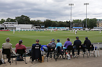 Spectators look on during Essex CCC vs Warwickshire CCC, Specsavers County Championship Division 1 Cricket at The Cloudfm County Ground on 14th July 2019