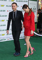 HOLLYWOOD, CA - MAY 6:  Scott Campbell, Lake Bell at the Premiere Of Disney's 'Million Dollar Arm'  on May 6, 2014 at El Capitan Theatre in Hollywood, California. Credit: SP1/Starlitepics /nortephoto.com