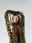 WATERBURY, CT- 10 December 2015-121015EC06-  Christmas Kids Metro. 6-year-old Liana Couto, of Naugatuck, says her favorite thing about Christmas is the tree and the holiday decorations. She wants a Baby Alive doll. Erin Covey Republican-American