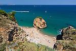 Spain, Catalonia, Costa Brava, Sa Riera, near Begur: Illa Roja beach | Spanien, Katalonien, Costa Brava, Sa Riera bei Begur: Illa Roja beach