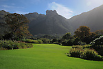 Kirstenbosch National Botanical Garden on the flanks of Table Mountain, Cape Town, South Africa.