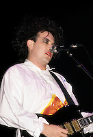 FILE - The Cure in concert at Montreal Forum, August 2nd, 1987<br /> <br /> PHOTO : Pierre Roussel - Agence Quebec Presse
