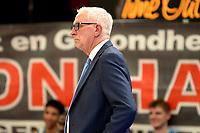 11-05-2021: Basketbal: Donar Groningen v Den Helder Suns: Groningen,  Donar coach Pete Miller