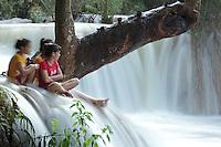 Cascade non loin de Luang Prabang Laos.