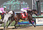 06 February 2011: Gladding and Rafael Bejarano win the San Antonio Stakes(GII) at Santa Anita Park, Arcadia, CA.
