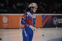 SPEEDSKATING: DORDRECHT: 06-03-2021, ISU World Short Track Speedskating Championships, SF 500m Ladies, Sofia Prosvirnova (RSU), ©photo Martin de Jong
