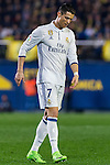Cristiano Ronaldo of Real Madrid reacts during their La Liga match between Villarreal CF and Real Madrid at the Estadio de la Cerámica on 26 February 2017 in Villarreal, Spain. Photo by Maria Jose Segovia Carmona / Power Sport Images