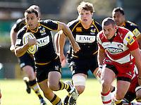 Photo: Richard Lane/Richard Lane Photography. London Wasps v Gloucester Rugby. Aviva Premiership. 01/04/2012. Wasps'