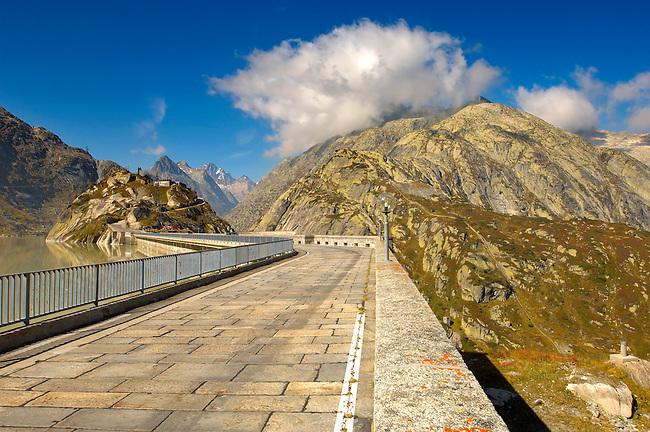 Grimsel Pass resevoirs - Swiss Alps - Switzerland