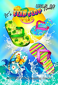 Lori, STILL LIFE STILLEBEN, NATURALEZA MORTA, paintings+++++1-It'sFlipFlopTime!,USLS84,#i#, EVERYDAY,summer,beach,fun,maritime