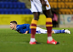 St Johnstone v Motherwell…21.11.20   McDiarmid Park      SPFL<br />David Wotherspoon reacts after shooting wide<br />Picture by Graeme Hart.<br />Copyright Perthshire Picture Agency<br />Tel: 01738 623350  Mobile: 07990 594431