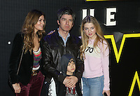 Noel Gallagher & Family during the STAR WARS: 'The Force Awakens' EUROPEAN PREMIERE at Odeon, Empire & Vue Cinemas, Leicester Square, England on 16 December 2015. Photo by David Horn / PRiME Media Images