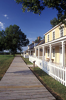AJ0394, South Dakota, Officer's Quarters at Fort Sisseton State Park in Lake City.