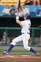 June 2, 2009: Scott Thorman (21) of the Omaha Royals at Rosenblatt Stadium in Omaha, NE.  Photo by: Chris Proctor/Four Seam Images