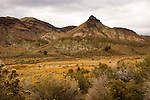 Painted Hills in the John Day Fossil Beds National Monument in Oregon.