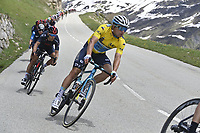 5th June 2021; La Plagne, Tarentaise, France;  LUTSENKO Alexey (KAZ) of ASTANA - PREMIER TECH during stage 7 of the 73th edition of the 2021 Criterium du Dauphine Libere cycling race, a stage of 171km with start in Saint-Martin-Le-Vinoux and finish in La Plagne